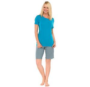 Kurz Damen 1 L 2arm Schlafanzug Übergrößen 50 5xl Pyjama Schiesser Neu 40 Bambus Ea4Ew