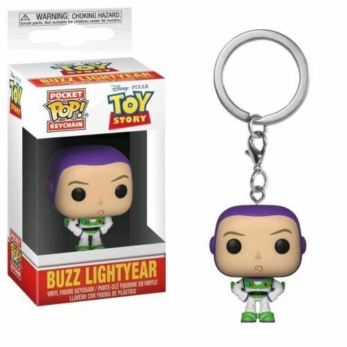 Buzz Lightyear Toy Story Pocket Pop Ufficiale Disney Funko Pop Vinile Portachiavi