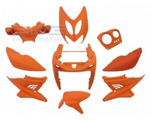 Kit-carenage-capot-9-pieces-en-orange-mat-pour-yamaha-aerox-mbk-nitro