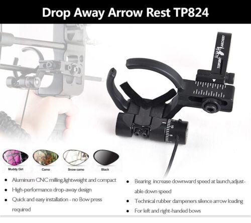 Right Hand Aluminum Compound Bow Archery Rests Drop Away Arrow Rest Left