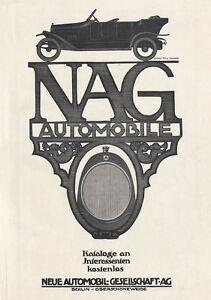 Courageux Nouvelle Automobile Gesellschaft Ag Nag Berlin Oberschöneweide Affiche Moteur A2 417-e Plakat Motor A2 417 Fr-fr Afficher Le Titre D'origine à Vendre