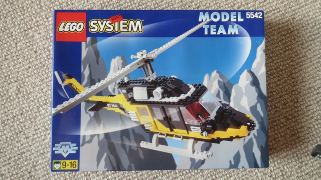 Lego Model Team, Art 5542, Black Thunder Helicopter  Uåbnet