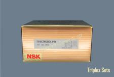 Nsk 7018ctrdbdlp4y Abec 7 Super Precision Spindle Bearings Set Of Three