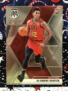 De-039-ANDRE-HUNTER-ROOKIE-2019-20-PANINI-MOSAIC-ATLANTA-HAWKS-NO-239