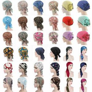 Women-Cancer-Hat-Chemo-Cap-Muslim-Hair-Loss-Head-Scarf-Turban-Head-Wrap-Covers