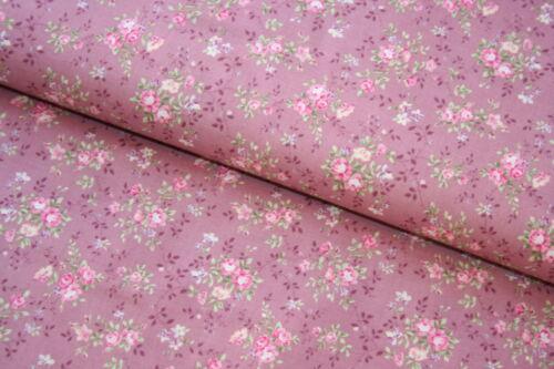 16,76€//qm Stoff Patchwork Rosen Romatisch Bouquet Prima 25cm