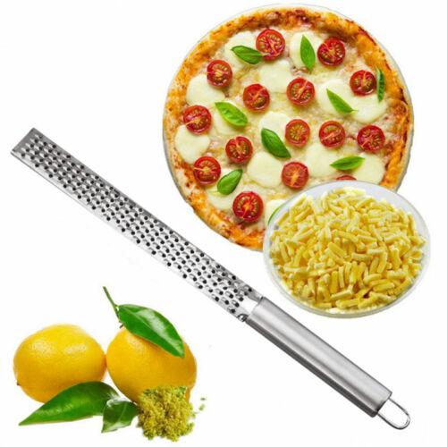 Silver Stainless Lemon Cheese Vegetable Zester Grater Peeler Slicer Kitchen Tool