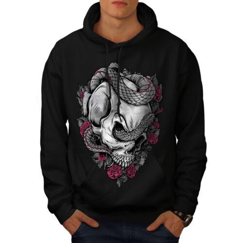 Black Sweatshirt Mens Casual Wellcoda New Hooded Hoodie ZqXAwxwY