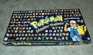 Choose 1 Pokemon Master Trainer Board Game Replacement 1999 Rival Cards Green