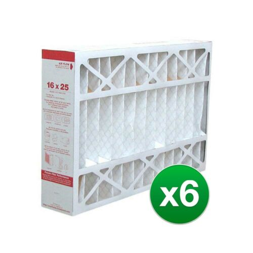 Replacement For Lennox X6670 X6672 16x25x5 HVAC Air Filter MERV 11 6 Pack