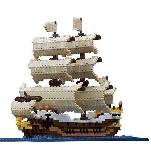 Nano-block sail boat ship NB-030 from Japan NEW