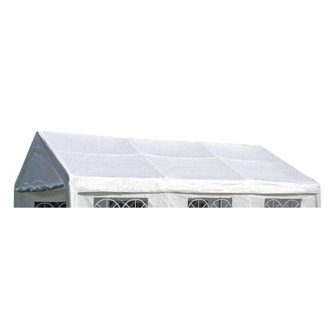 DEGAMO 20 Ersatzdach für Partyzelt PALMA   Weiß, 20x20m ...