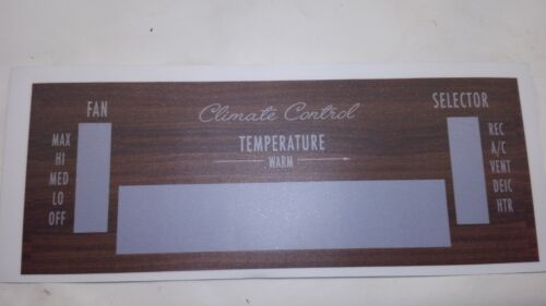 Like NOS 1969-1970  Buick Riviera Climate control  A//C  face plate
