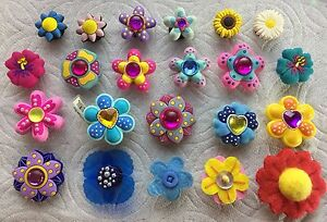 f476d2ccf6caa FLOWER JIBBITZ FLOWER SHOE CHARMS FITS CROCS SUNFLOWER JIBBITZ DAISY ...