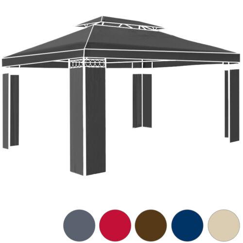 DEUBA® Pavillon Stoff 3x4 Festzelt Partyzelt Dachbespannung Pavillion Elda 12m²