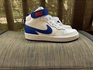 Nike-Court-Borough-Mid-2-GS-White-Game-Royal-CD7782-101-Size-4-5Y