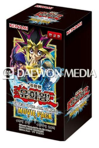 """20 Pack Yugioh Card  /""""The Dark Side Of Dimensions Movie Pack/"""" // Korean Ver"""