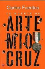 La muerte de Artemio Cruz  The Death of Artemio Cruz (Spanish Edition)-ExLibrary