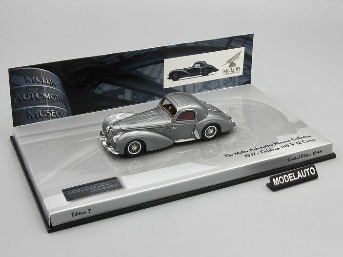 Minichamps 1 43 Delahaye 145 Coupe 1938 gris L.E. 1948 PCS.