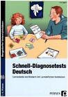 Schnell-Diagnosetests: Deutsch von Jens Eggert (2016, Set mit diversen Artikeln)