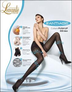 d17f8b63c4b7 Caricamento dell'immagine in corso Levante-Collant-Donna-Anti -Age-PUSH-UP-Calze-