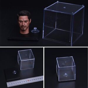 """1//6 Transparent Accessories Display Storage Box For 12/"""" Action Figure Hot Toys"""