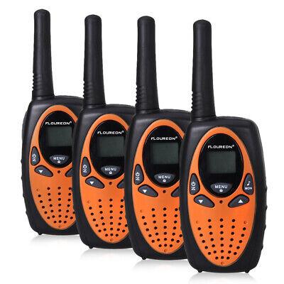 Aufrichtig 4tlg 8kanäle Tragbar Handfunkgerät Portable Walkie Talkie Handheld Funkgeräte Eu