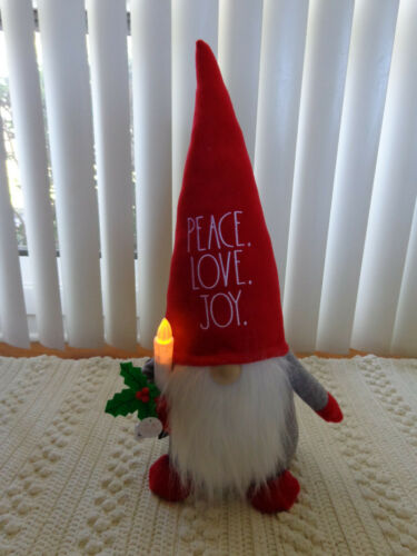 RAE DUNN CHRISTMAS Gnome MERRY CHRISTMAS PEACE LOVE JOY JOYFUL MERRY You Choose