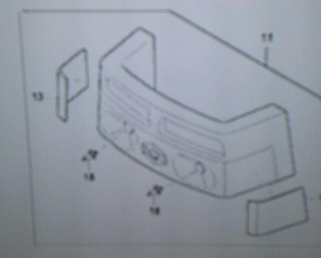 s l640 t4520 50533 kioti tractor dk 45 headlight assy ebay