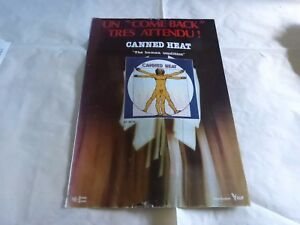 Canned-Heat-Pubblicita-di-Rivista-Pubblicita-Vintage-70-039-S-Human-Condition