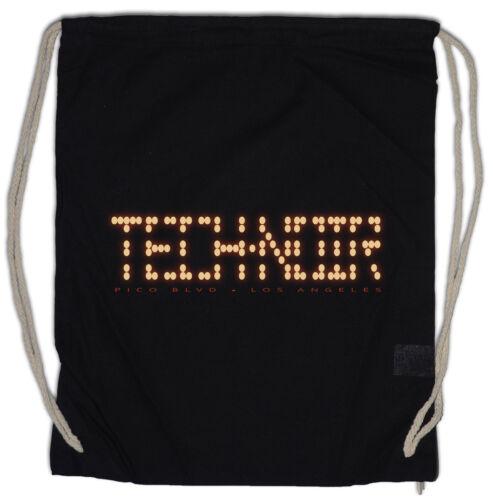 TECH NOIR LOS ANGELES CLUB Turnbeutel Terminator Technoir Cyber Movie TV