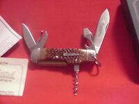 Remington 1996 (r3843) trail Hand Bullet Knife - Mint In Box