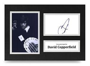 David-Copperfield-Signed-A4-Photo-Display-Illusionist-Autograph-Memorabilia-COA