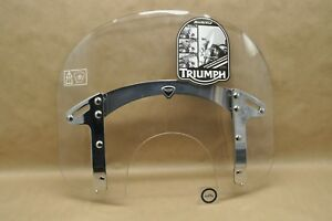 New Oem Triumph 11 16 Thunderbird Quick Release Wind Shield Summer