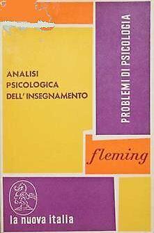 Analisi psicologica dell'insegnamento - [La Nuova Italia Editrice]