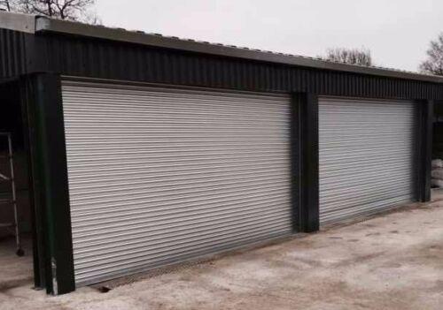 Manual Operation Roller Shutter Doors 1000 X 2100mm Ebay