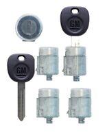 Gmc 2001-2007 Savana Van - 4 Door Lock W/2 Keys - Right, Left, Side & Rear