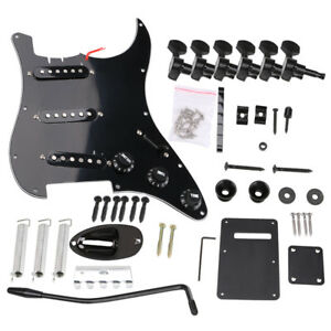 22Pcs-set-Electric-Guitar-Parts-Kit-Pickup-Loaded-Prewired-Pickguard-Tuning-Pegs