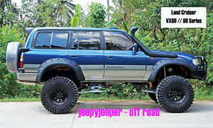Jungle Off Road 4x4 Fender Flares Wheel Arches Toyota Land