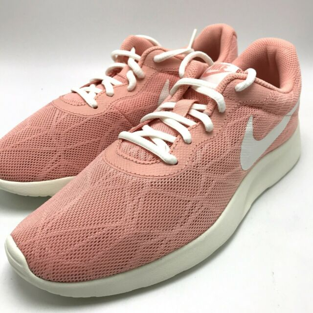 the best attitude buying cheap official shop Nike Tanjun SE Womens 844908-603 Coral Stardust Sail Mesh Running Shoes  Size 9.5