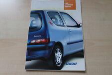 89090) Fiat Seicento - Brush - Österreich - Prospekt 08/2001