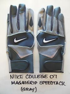 Image is loading NIKE-COLLEGE-MAGNIGRIP-SPEEDTACK-FOOTBALL-GLOVES-3XL 6d1350041