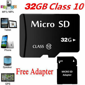 Micro Sd Karte 32gb.Details Zu Micro Sd Karte 32gb Class 10 Memory Card 32gb Mit Adapter Micro Sd Card 32gb