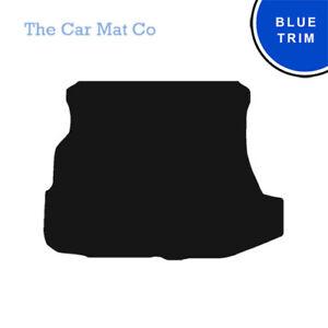 Subaru Impreza Saloon 1993-2000 Fully Tailored Black Carpet Boot Mat /& Blue Trim