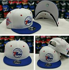 Exclusive New Era NBA All Star Weekend 76ers White 9Fifty Snapback
