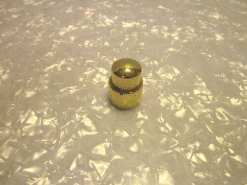 Gold Stacked Dual Control Knob Concentric Set Guitar Bass Free Shipping USA!