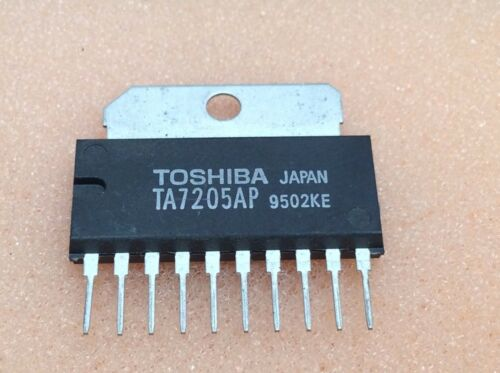 1 pc TA7205AP  Toshiba  SIP10  NOS