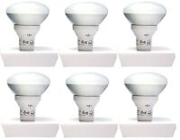 6x Bulbs Power Energy Saver 18w Warm White 2700 K Bulb R30 Floodlight 940 Lumens