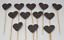 12-Paillettes-Coeur-Cupcake-Toppers-Parti-Decoration-cup-cake-topper-Food-drapeaux miniature 19