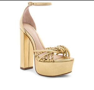 RACHEL ZOE Kinsley Gold Leather